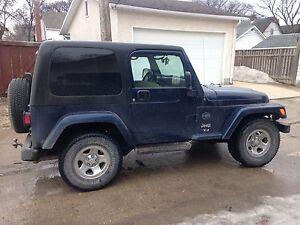 Jeep tj safetied