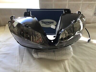 Triumph daytona 675 headlight headlamp Symmetrical dip 2015 motorcycle parts