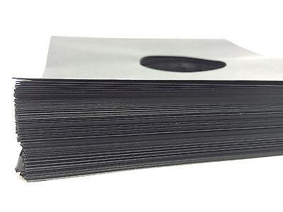 """Black Paper Record inner Sleeves (50 pack) LP Vinyl 12"""" Album 20lb. Stock 33rpm"""