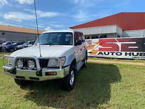 SALE💯 Toyota prado White 1998 V6 Coconut Grove Darwin City Preview