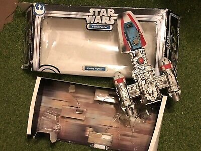 Star Wars Y-WING FIGHTER TOY HASBRO 2004 ORIGINAL TRILOGY COLLECTION BOXED