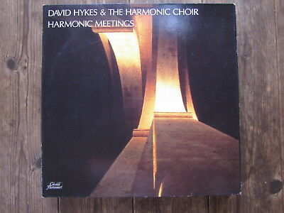 "DLP - DAVID HYKES & THE HARMONIC CHOIR -HARMONIC MEETINGS  ""TOPZUSTAND!"""