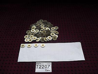 TOKEN BIMETALL 173 Stück, 26,96mm Ø, Weiterspielmarken, Jeton, Tokens, T2207