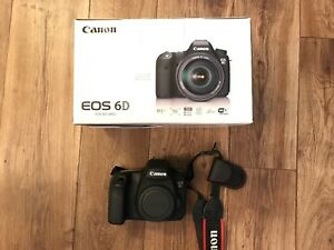 Canon 6d DSLR. Camera