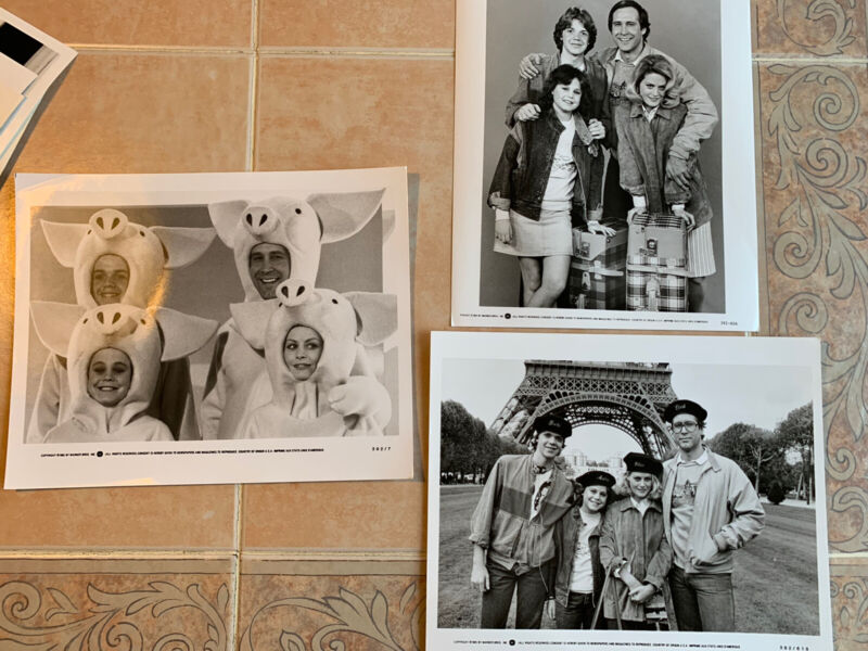 EUROPEAN VACATION CHEVY CHASE Lot of  3 1985 Press Photos