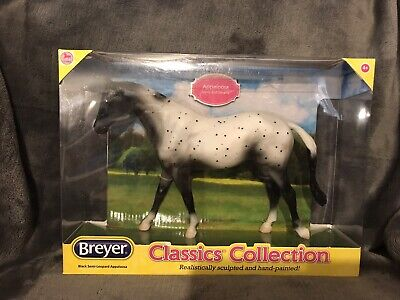 Breyer Appaloosa BlacK White Spotted Horse Vintage