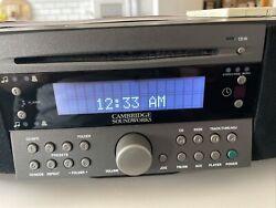 Cambridge Soundworks Radio/CD Alarm clock Player CD-745 black With remote