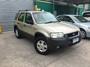 2002 FORD ESCAPE DUAl FUEL REGO & RWC Lilydale Yarra Ranges Preview