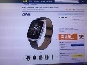 "ASUS ZEN 2 1.63 "" watch"