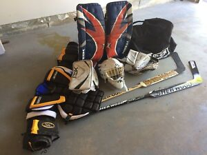 Ball or ice Hockey Goalie Gear