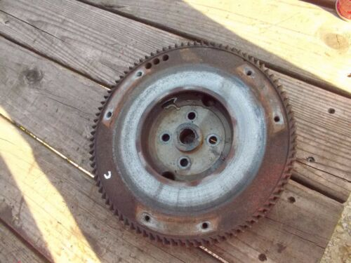 AC Allis Chalmers C Tractor engine motor flywheel w/ good starter ring gear