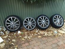 "17"" mags and tyres Modbury North Tea Tree Gully Area Preview"