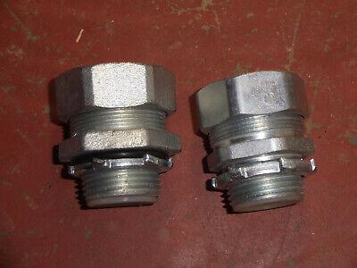 Qty. 25 Liquid-tite 1 Straight Connectors Sealtite Seal-tite Liquid Tight