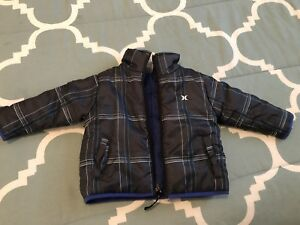 Hurley Jacket 12 months- Reversible- Brand New Condition