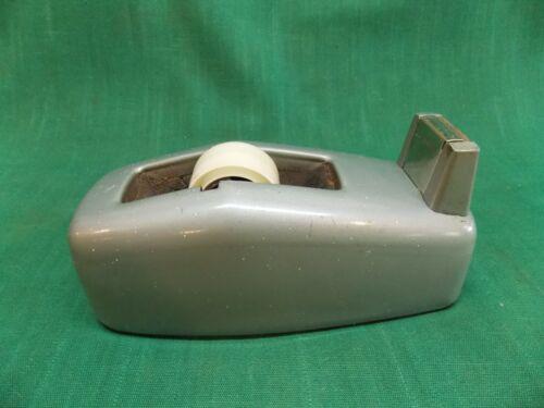 Vintage industrial military green Scotch tape dispenser model C-20. Heavy
