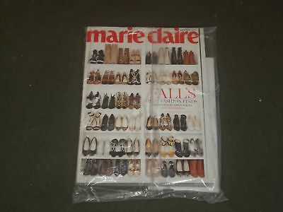 2015 OCTOBER MARIE CLAIRE MAGAZINE - FALL FASHION COVER - B 3384
