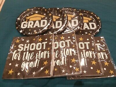 Graduation Plates And Napkins (Graduation Party Supplies Plates and Napkins)