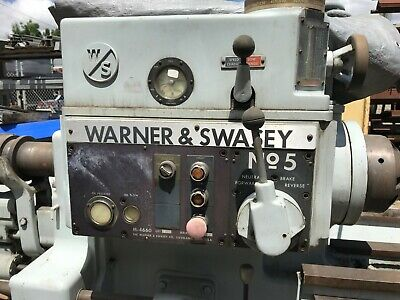 Warner Swasey No. 5 Turret Lathe