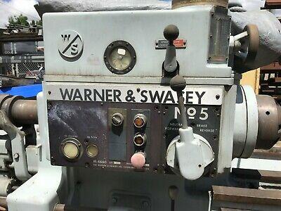Warner Swasey No. 5 Turret Lathe