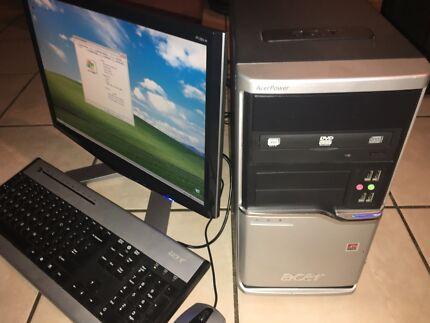 ACER DESKTOP COMPUTER SYSTEM