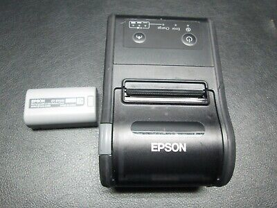 Epson M292B TM-P60II Bluetooth Mobile Thermal POS Receipt Printer with Battery