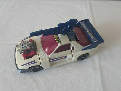 Transformers G1 Generation 1 Getaway Powermaster. Discolored. Has accessories.