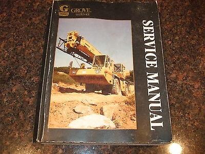 Grove Rt700 Rt-700 Rough Terrain Crane Service Repair Manual