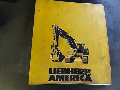 Liebherr America R925 Workshop Manual