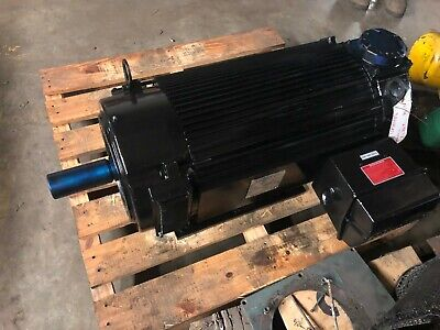 Powertec Brushless Dc Motor 60 Hp 1750 Rpm 640 V 288tz Reconditioned