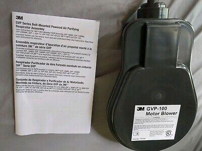Genuine 3m Powered Air Purifying Respirator Papr Unit Gvp-100 Reduced