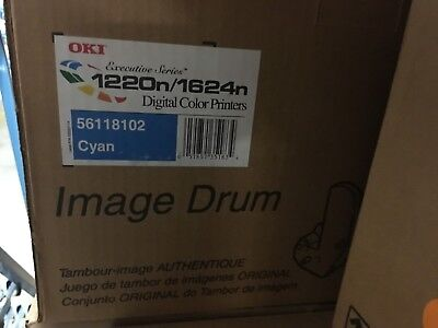 Genuine Okidata Cyan Drum - New Genuine OEM Okidata Cyan Drum Unit 1220, 56118102