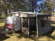 17 FOOT. TWIN SINGLE BEDS. SINGLE AXLE. POPTOP CARAVAN. Maroochydore Maroochydore Area Preview