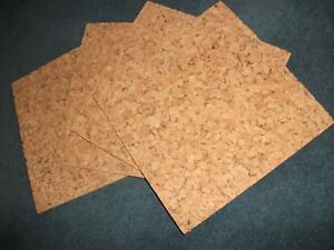 Cork Tiles for Walls - Decorative, Suitable for pinboards