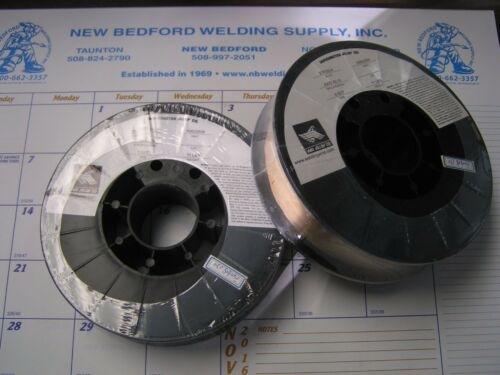 (2) 11LBS ROLLS OF 70S6 X .023 MIG WIRE WASHINGTON ALLOYS
