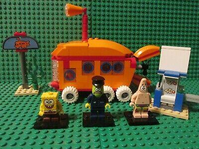 3830 LEGO SpongeBob Bikini Bottom Express Complete w/replacement pieces
