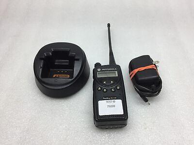 Motorola Radius Vl130 Handheld 2-way Radio Walkie Talkie Tested Working Fair