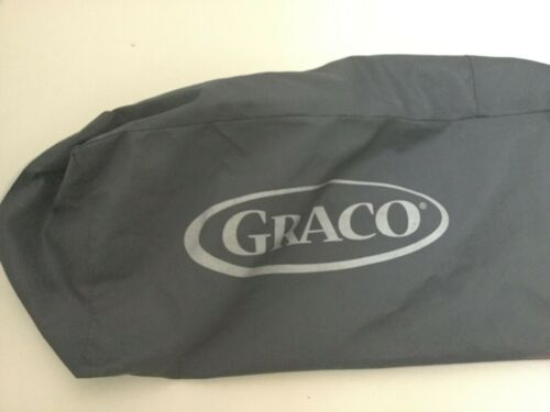 Graco Pack n Play Replacement Storage Cover Carry Bag Gray Zipper