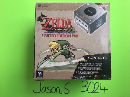 Nintendo GameCube boxed Legend of Zelda Wind Waker Limited Edition Pak
