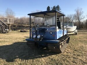 1962 foremost Sure-go amphibious tracked machine