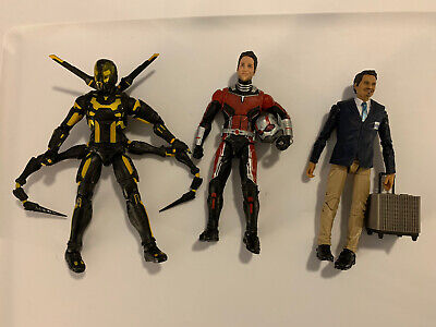 Ant-man, Yellow Jacket and Luis Marvel Legends