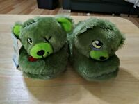 Lot Of 2 Kids Build A Bear Slippers All Sizes
