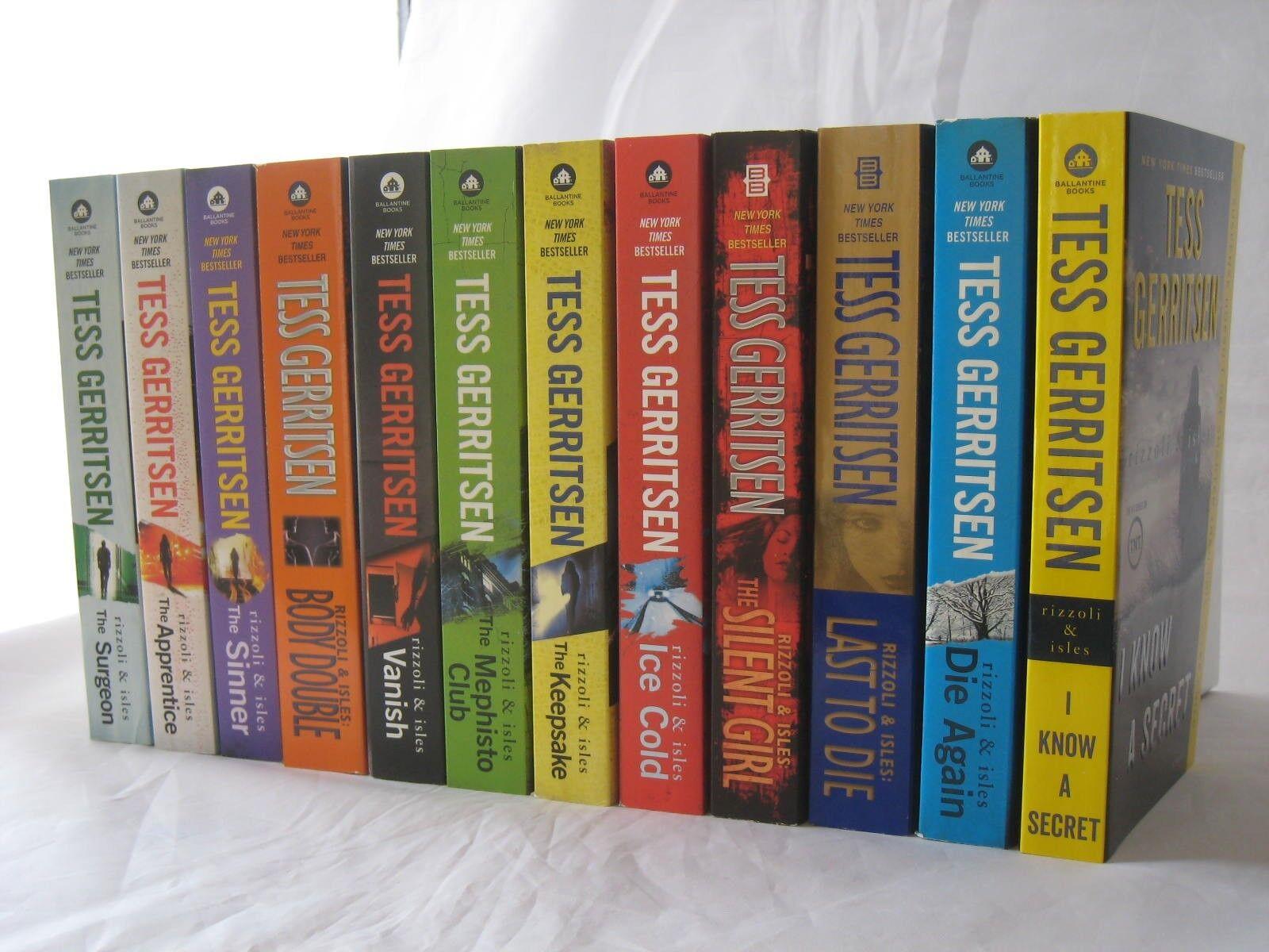 Rizzoli & Isles Novels by Tess Gerritsen