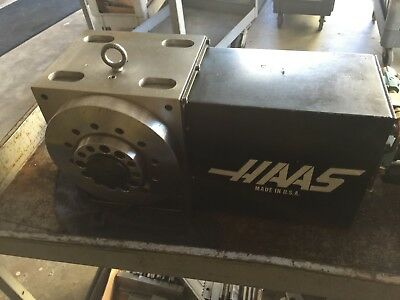 Nice Haas 8 Indexer W Servo Control Box 4th Axis Rotary Table A 2 6 Mount