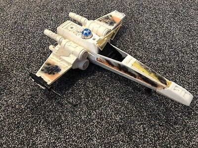 Vintage Star Wars X-Wing Palitoy Kenner Incomplete W/ Canopy ESB ROTJ Luke