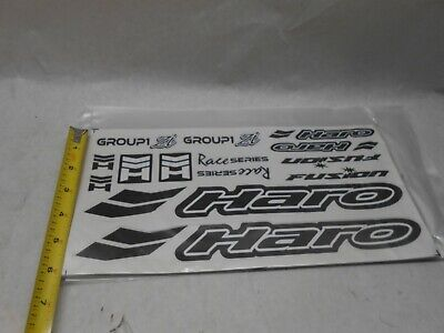 Reproduction 1997 GT Performer Bmx Decal Set-Chrome Support