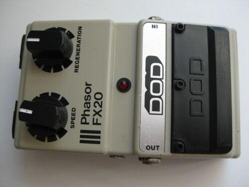 Vintage DOD FX20 Phasor Guitar Effect Pedal USA