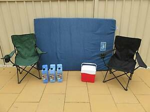 Camping Gear - Esky, Water Jerry Cans, Mattress, Chairs Ashfield Ashfield Area Preview