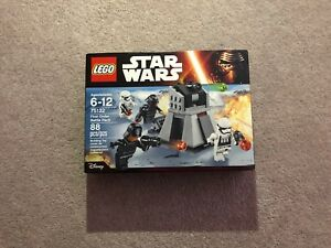 LEGO First Order Battle Pack 75132 - 88pc (Brand-New Sealed-Box)