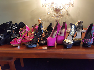 7 pairs of size 9 shoes Upper Coomera Gold Coast North Preview