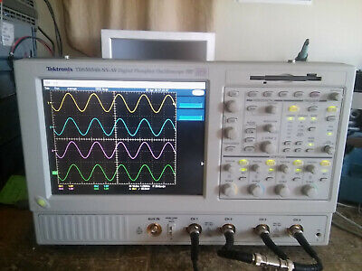 Tektronix Tds5054b 500mhz 5gss Oscilloscope With Touch Screen Opt 3m